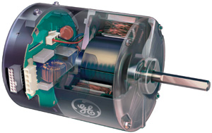 Variable Speed Energy Efficienct Blower Motor uses up to 80% less electricy