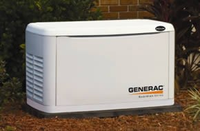 Generac whole House Generators Installed by JC Heating & Cooling