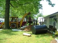 JC Heating removes underground heating oil storage tanks