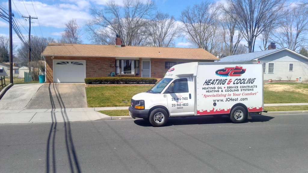 JC Heating Service Truck