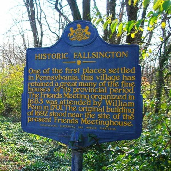 Historic fallsington