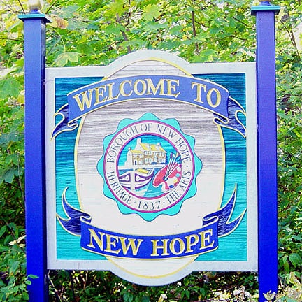 New Hope Sign