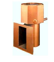 Copper Coated Heat Exchanger Prevents Rust and Prolongs the Life of the oil furnace